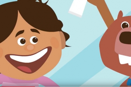 FDI promove saúde oral com desenhos animados