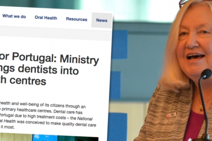 FDI destaca médicos dentistas nos centros de saúde