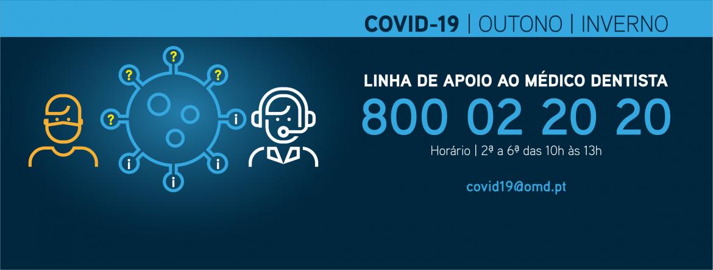 Linha de Apoio ao Médico Dentista COVID-19