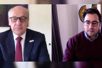 Bastonário reúne com presidente da FDI
