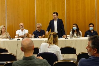 Reunião mensal do Conselho Diretivo decorreu no Algarve